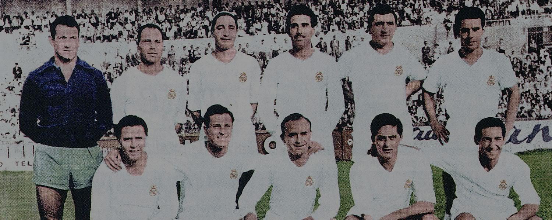 Resultado de imagen para Real Madrid 1955